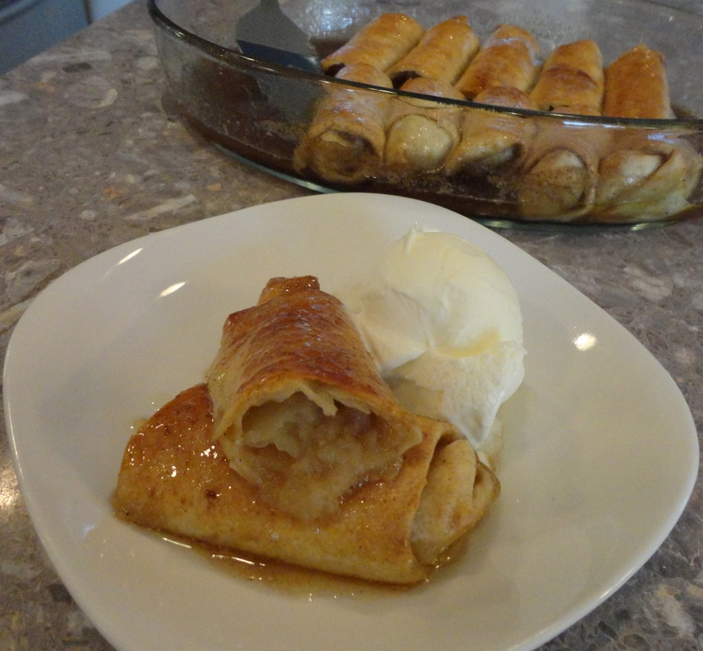 Apple Pie Enchilada