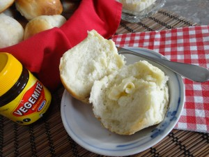 Best Ever Dinner Rolls with Vegemite - Yum!