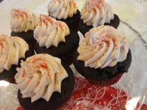 Mocha Cupcakes with Coffee Cream Frosting