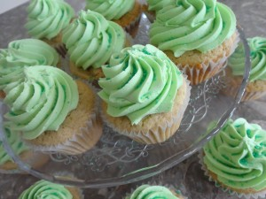 Bailey's Irish Creme Cupcakes
