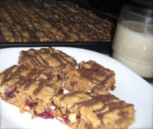 hermit cookie bars