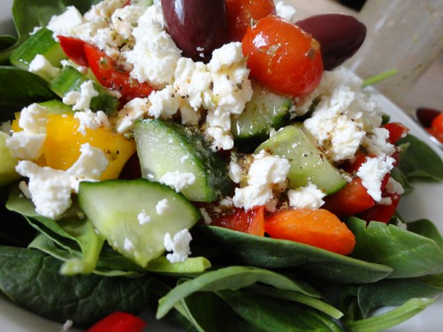 Low Carb Greek Salad