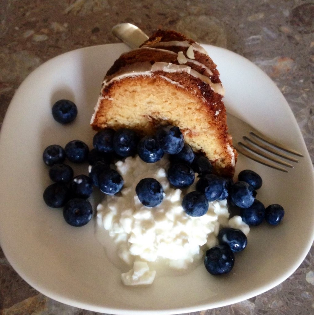 sour cream coffee cake for breakfast