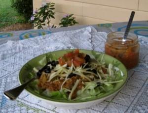 Taco Salad with Salsa