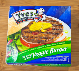 My Go-To Veggie Patty because I can find it just about anywhere!